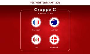 Gruppe C Fußball-WM 2018