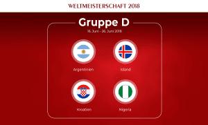 Gruppe D Fußball-WM 2018