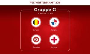 Gruppe G Fußball-WM 2018