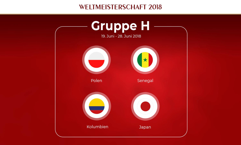 Gruppe H Fußball-WM 2018