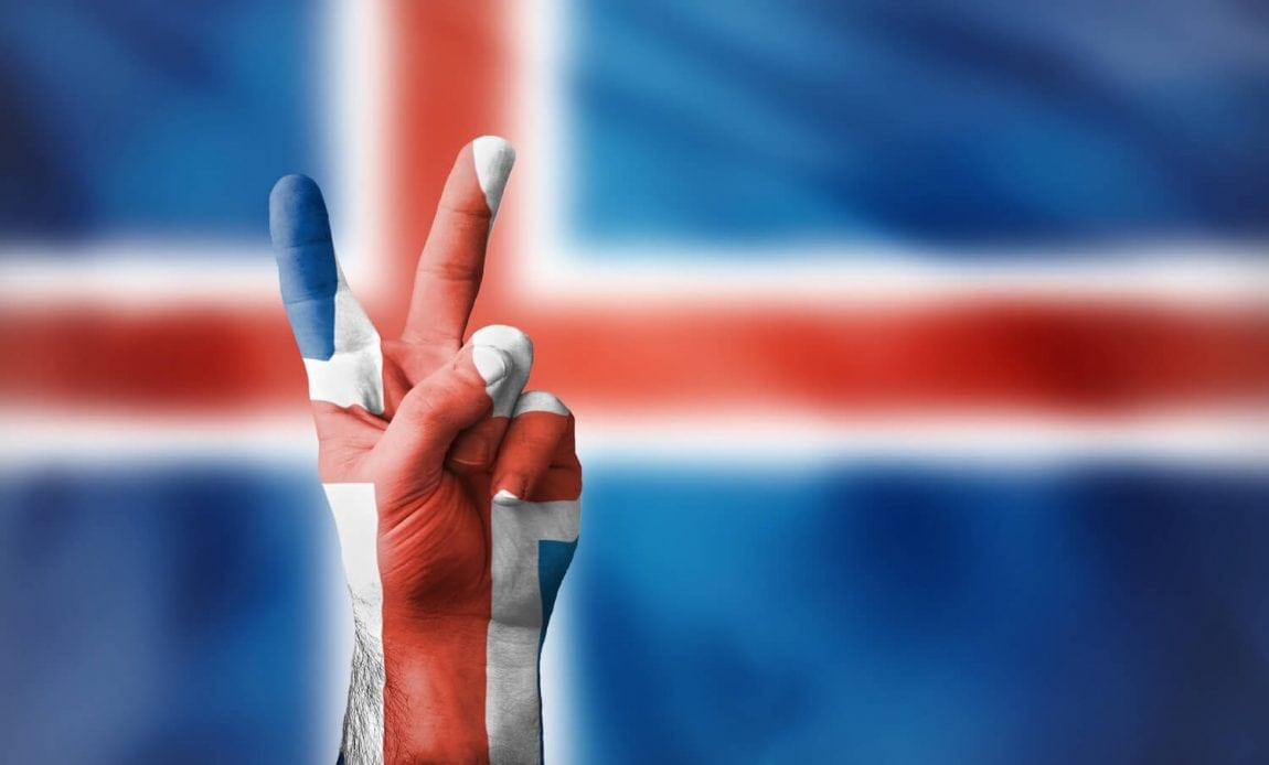 Island Fußball-Team