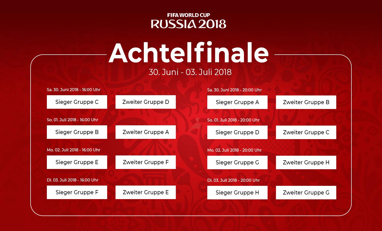 WM-Achtelfinale 2018