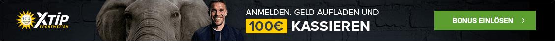 X-TiP 100% Bonus