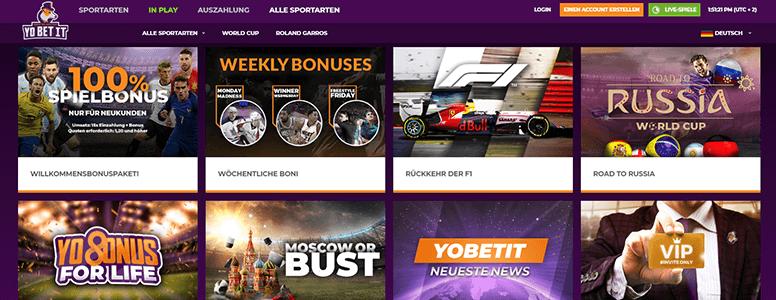 Yobetit Promotionen