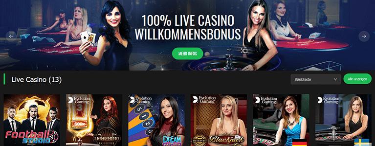 10Bet Casino Live Casino