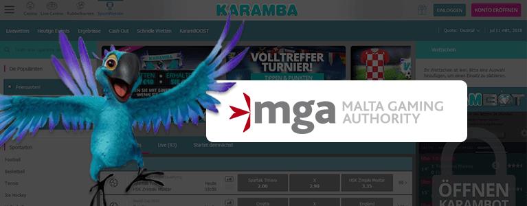 Karamba Sports Lizenz