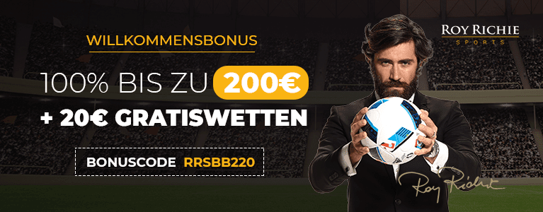 Roy Richie Sportwetten Bonus
