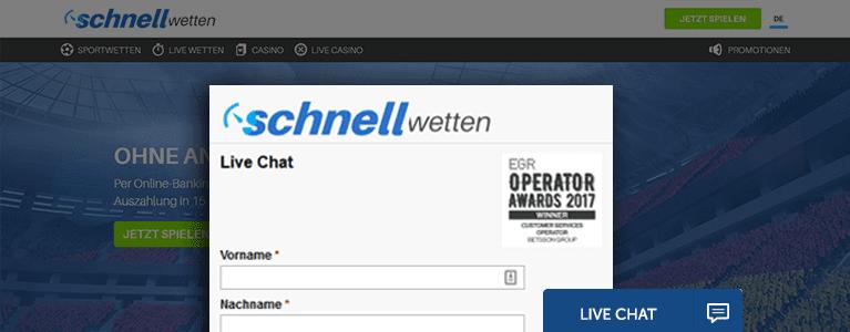 SchnellWetten.com Support
