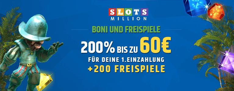 SlotsMilliaon Bonus
