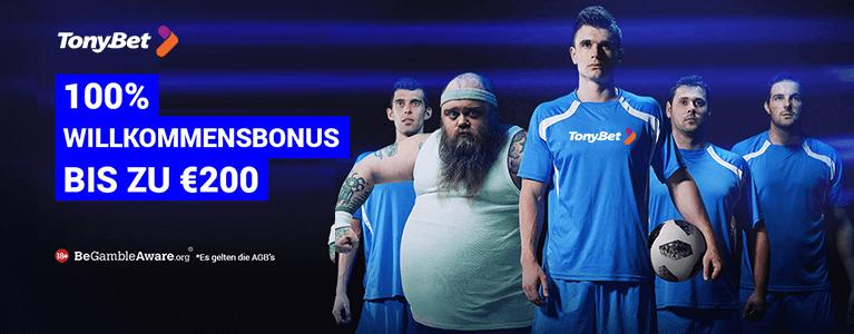 TonyBet Sport Bonus