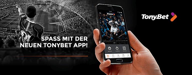 TonyBet Sport App