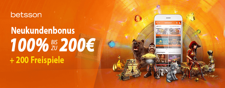 Betsson Casino Bonus 1