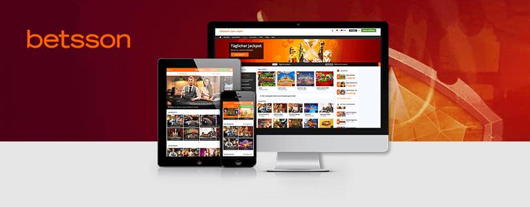Betsson Casino Mobile App