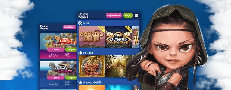 Casino Heroes Spiele