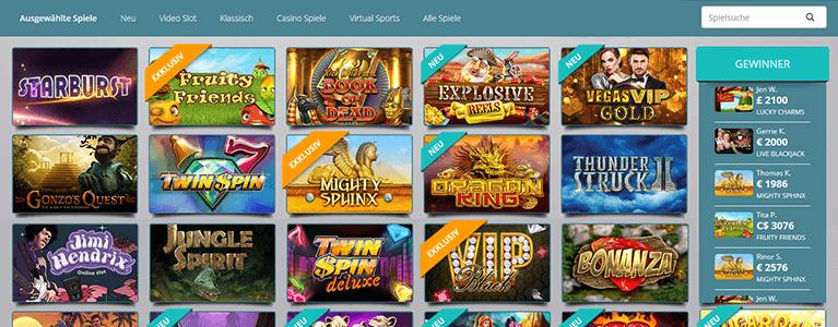 Karamba Casino Spiele