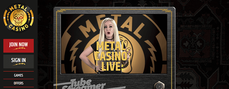 Metal Casino Live Casino