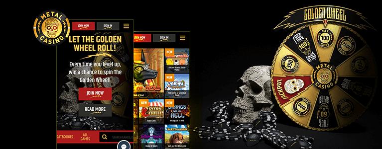 Metal Casino Mobile App