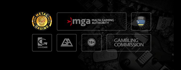 Metal Casino Sicherheit / Lizenz