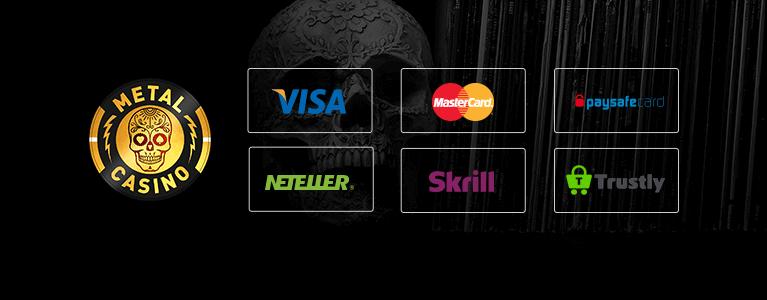 Metal Casino Zahlungen
