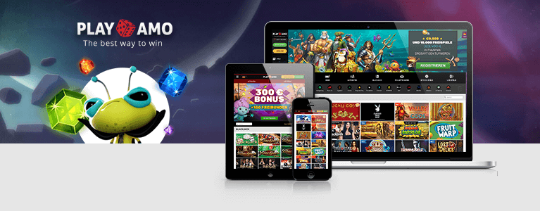 PlayAmo Casino Mobile App