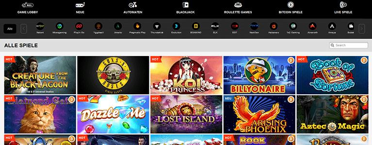 PlayAmo Casino Spiele & Slots