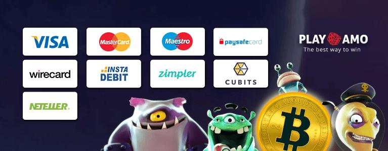PlayAmo Casino Zahlungen