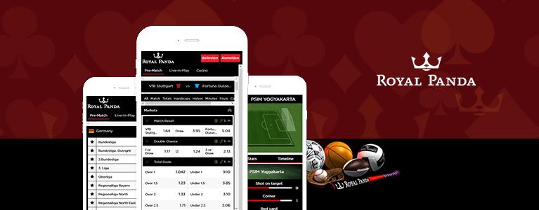 Royal Panda Sportwetten App & Mobile Sportwetten