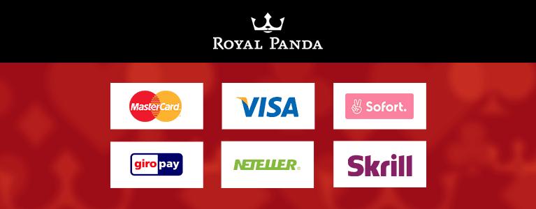 Royal Panda Sportwetten Zahlungswege