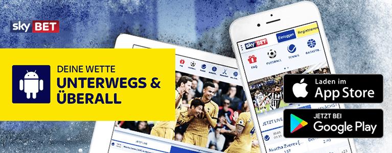 Sky Bet Mobile Sportwetten