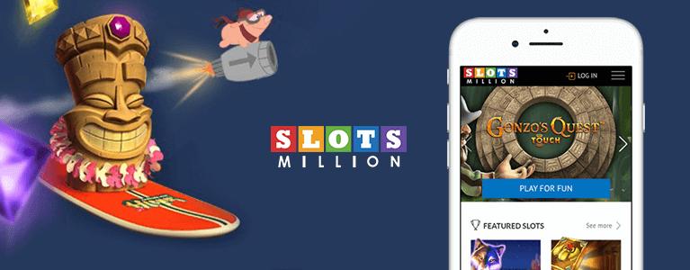 SlotsMillion Casino Mobil