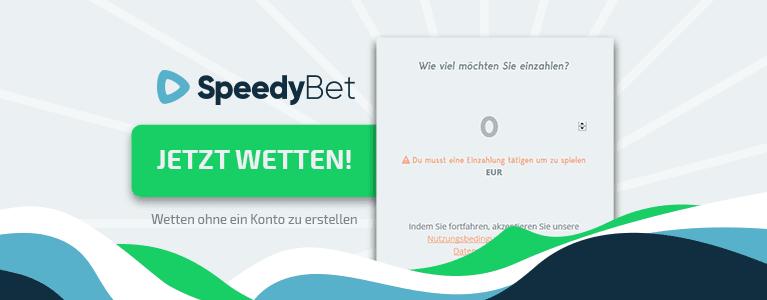 Speedy Bet Registrierung