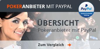 Poker-Anbieter mit PayPal