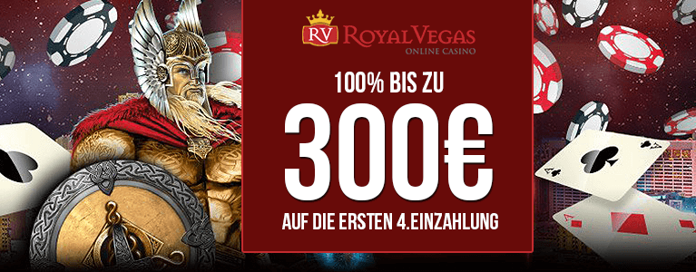 Royal Vegas Casino Neukundenbonus
