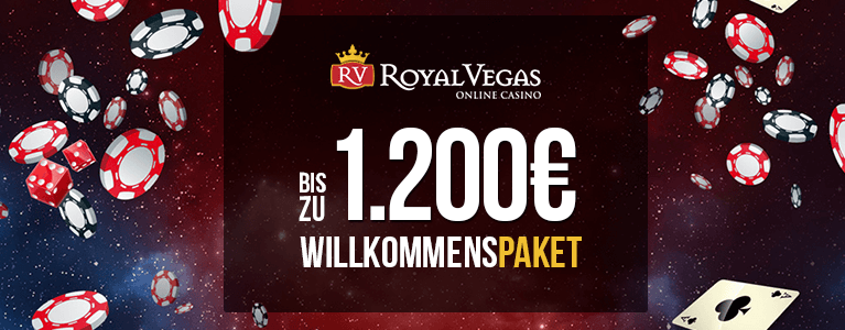 Royal Vegas Casino Willkommenspaket