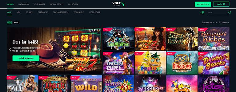 Volt Casino Spiele & Slots