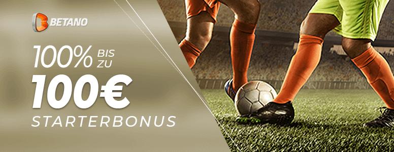 Betano Sportwetten Neukundenbonus bis zu 100 Euro