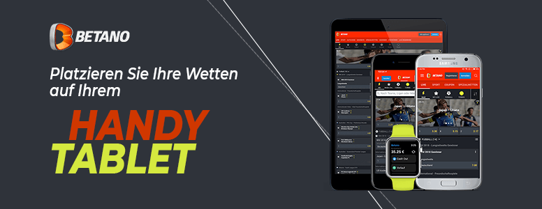 Betano Sportwetten Mobile App