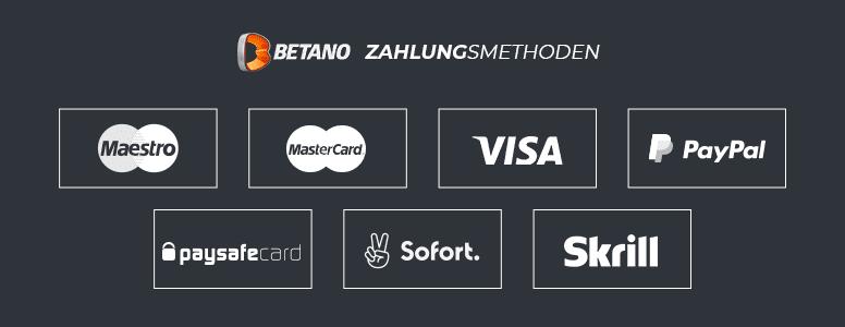 Betano Zahlungen