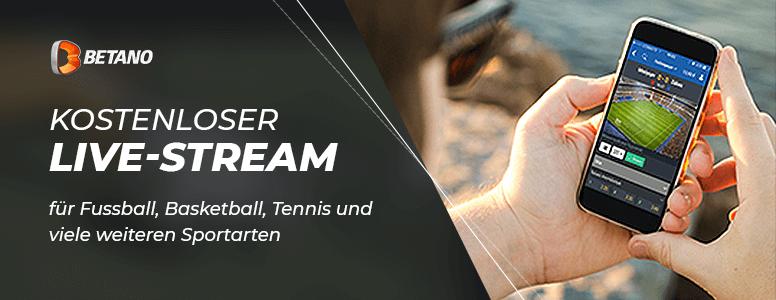 Betano Sportwetten Live Stream & Weitere Angebote