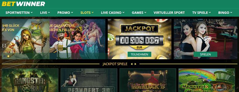Betwinner Extra: Casino
