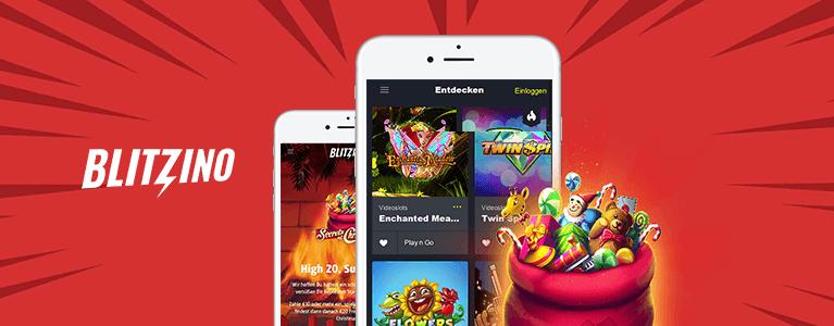 Blitzino Casino Mobil App