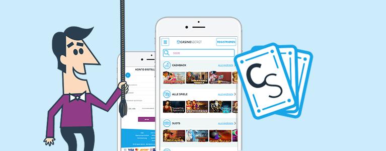 CasinoSecret Mobile App