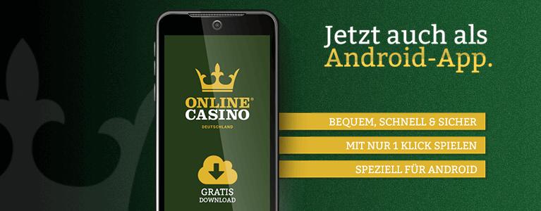 Onlinecasino.de Casino Mobile App