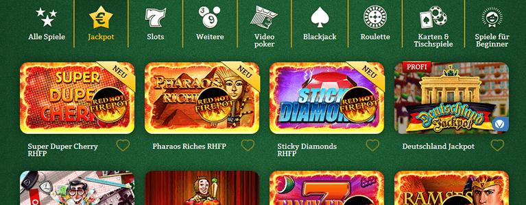 Onlinecasino.de Spiele