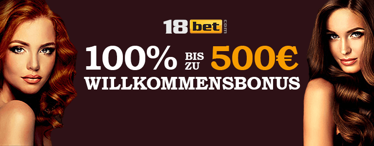 18bet Casino Willkommensbonus