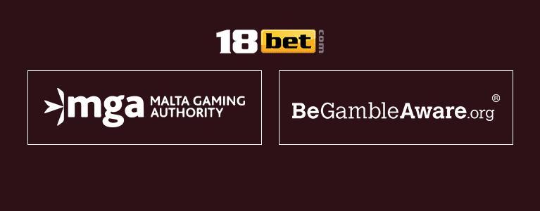 18bet Casino Sicherheit & Lizenz