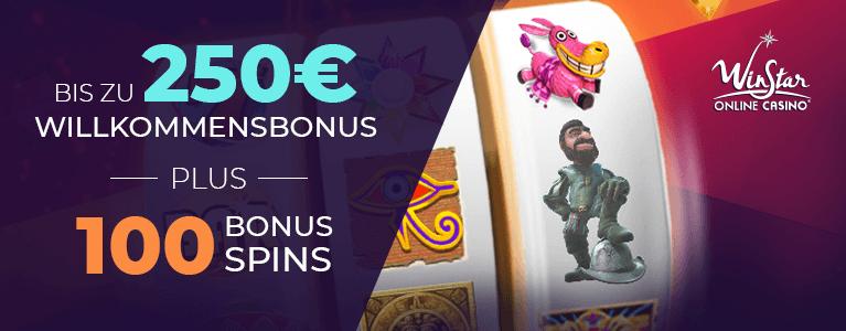 WinStar Casino Bonus für Neukunden