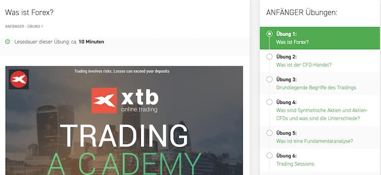 XTB Forex Begriffe