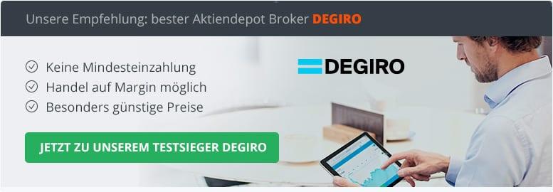 Aktiendepot Broker Vergleich