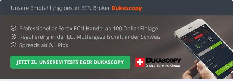 Was ist ein ECN Broker?